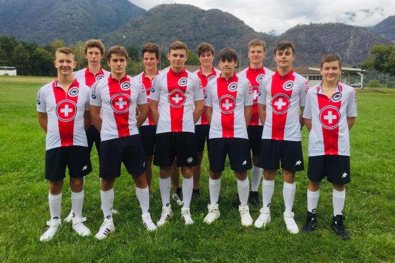 U19 Radballteam im Junioren-Nationalkader Trainingslager